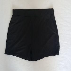 Meshki high rise short shorts size s